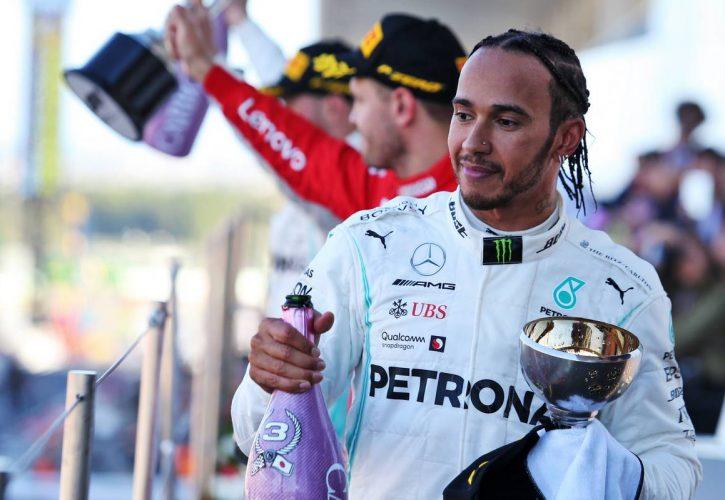 Lewis Hamilton urges people to go vegan, take climate change seriously