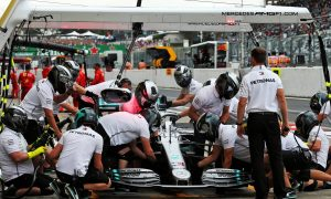Mercedes: Hamilton two-stopper at Suzuka decided by tyre wear