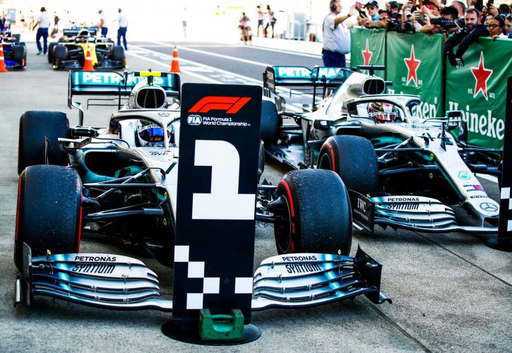 Valtteri Bottas Victorious in Japan, Mercedes Bags Constructors' Title