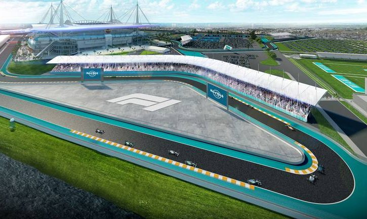 Miami edges closer to hosting an F1 race