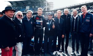 Jenson Button enjoys legends' support at Hockenheim
