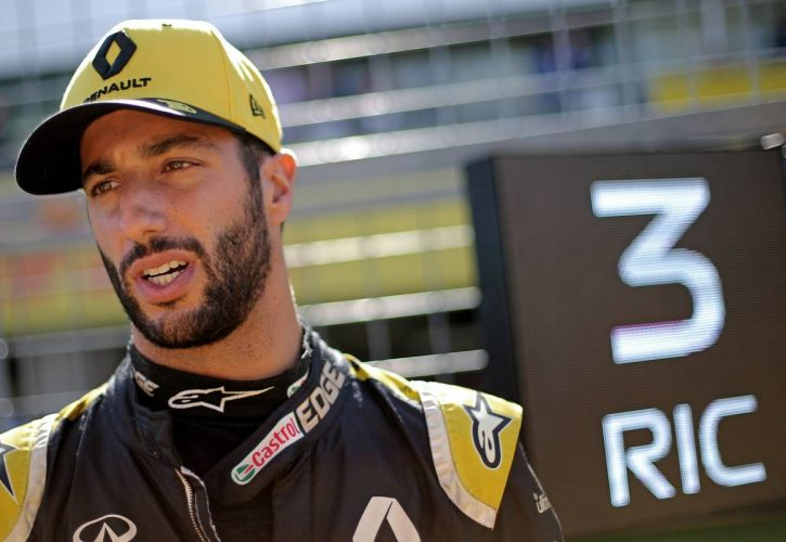 Renault driver Daniel Ricciardo stripped of Japan F1 GP points
