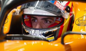 Sainz 'happy with the feeling' but cautious on outlook
