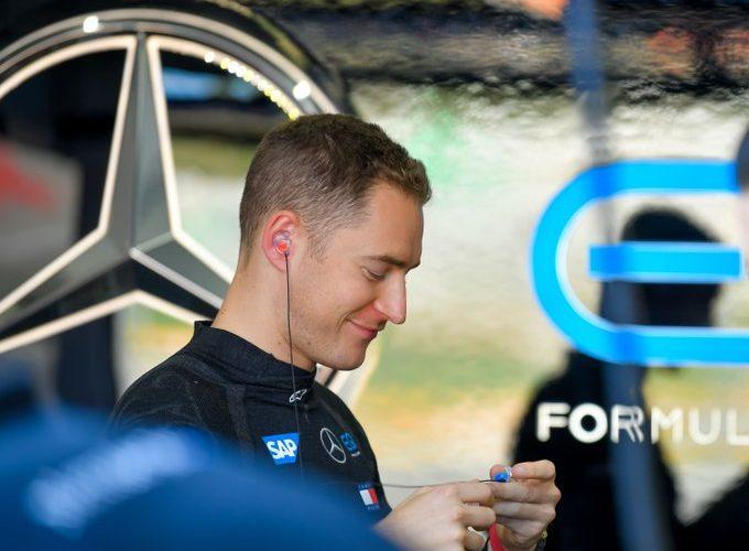 Stoffel Vandoorne, Mercedes. Formula E championship
