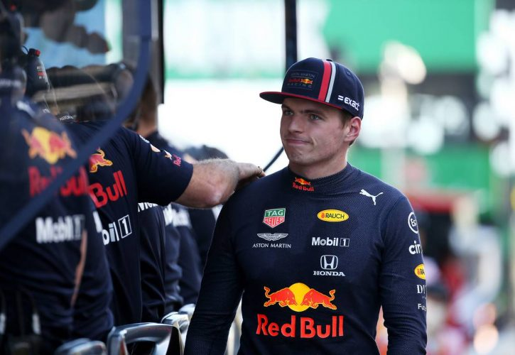 Verstappen blasts 'irresponsible' Leclerc for first-lap clash