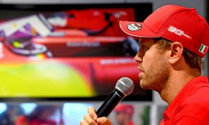 Vettel is confident, but dismisses Ferrari favourite label