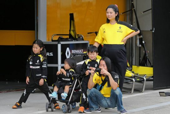 Renault F1 Team fans