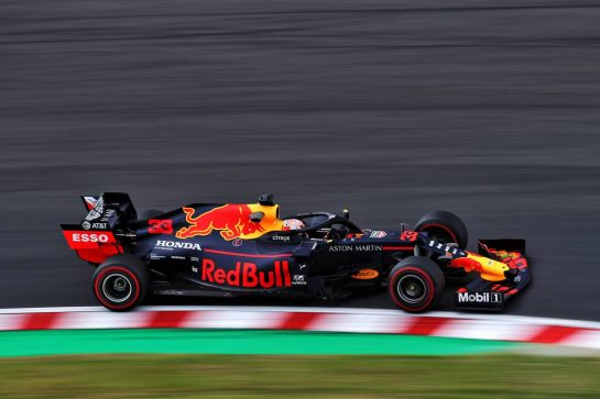 Max Verstappen (NLD) Red Bull Racing RB15. 11.10.2019. Formula 1 World Championship, Rd 17, Japanese Grand Prix, Suzuka, Japan, Practice Day.  - www.xpbimages.com, EMail: requests@xpbimages.com - copy of publication required for printed pictures. Every used picture is fee-liable. © Copyright: Filipe / XPB Images