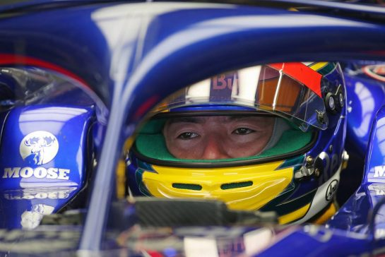 Naoki Yamamoto (JPN), Scuderia Toro Rosso 11.10.2019. Formula 1 World Championship, Rd 17, Japanese Grand Prix, Suzuka, Japan, Practice Day.- www.xpbimages.com, EMail: requests@xpbimages.com - copy of publication required for printed pictures. Every used picture is fee-liable. © Copyright: Charniaux / XPB Images