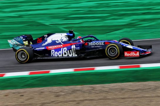 Daniil Kvyat (RUS) Scuderia Toro Rosso STR14. 11.10.2019. Formula 1 World Championship, Rd 17, Japanese Grand Prix, Suzuka, Japan, Practice Day. - www.xpbimages.com, EMail: requests@xpbimages.com - copy of publication required for printed pictures. Every used picture is fee-liable. © Copyright: Moy / XPB Images