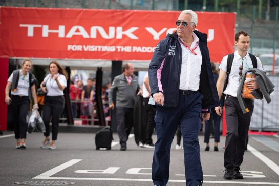 Lawrence Stroll (CDN) Racing Point F1 Team Investor. 11.10.2019. Formula 1 World Championship, Rd 17, Japanese Grand Prix, Suzuka, Japan, Practice Day.  - www.xpbimages.com, EMail: requests@xpbimages.com - copy of publication required for printed pictures. Every used picture is fee-liable. © Copyright: Bearne / XPB Images