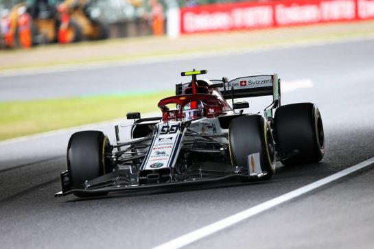 Antonio Giovinazzi (ITA) Alfa Romeo Racing C38. 11.10.2019. Formula 1 World Championship, Rd 17, Japanese Grand Prix, Suzuka, Japan, Practice Day.  - www.xpbimages.com, EMail: requests@xpbimages.com - copy of publication required for printed pictures. Every used picture is fee-liable. © Copyright: Filipe / XPB Images