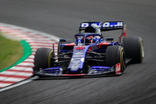 Daniil Kvyat (RUS) Scuderia Toro Rosso STR14. 11.10.2019. Formula 1 World Championship, Rd 17, Japanese Grand Prix, Suzuka, Japan, Practice Day.  - www.xpbimages.com, EMail: requests@xpbimages.com - copy of publication required for printed pictures. Every used picture is fee-liable. © Copyright: Bearne / XPB Images