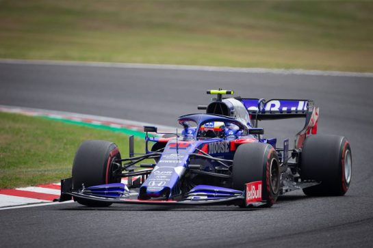 Naoki Yamamoto (JPN) Scuderia Toro Rosso STR14. 11.10.2019. Formula 1 World Championship, Rd 17, Japanese Grand Prix, Suzuka, Japan, Practice Day.  - www.xpbimages.com, EMail: requests@xpbimages.com - copy of publication required for printed pictures. Every used picture is fee-liable. © Copyright: Bearne / XPB Images