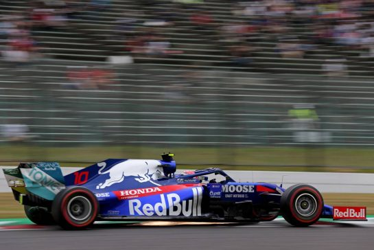 Pierre Gasly (FRA), Scuderia Toro Rosso  11.10.2019. Formula 1 World Championship, Rd 17, Japanese Grand Prix, Suzuka, Japan, Practice Day. - www.xpbimages.com, EMail: requests@xpbimages.com - copy of publication required for printed pictures. Every used picture is fee-liable. © Copyright: Charniaux / XPB Images