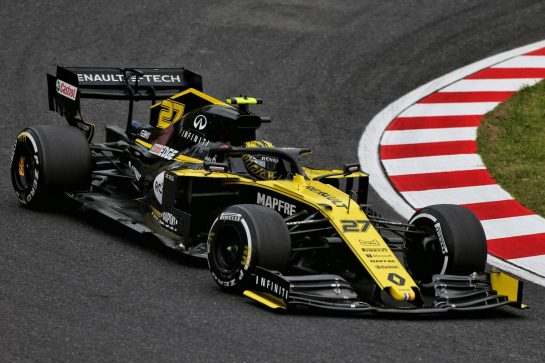 Nico Hulkenberg (GER) Renault F1 Team RS19. 11.10.2019. Formula 1 World Championship, Rd 17, Japanese Grand Prix, Suzuka, Japan, Practice Day. - www.xpbimages.com, EMail: requests@xpbimages.com - copy of publication required for printed pictures. Every used picture is fee-liable. © Copyright: Moy / XPB Images