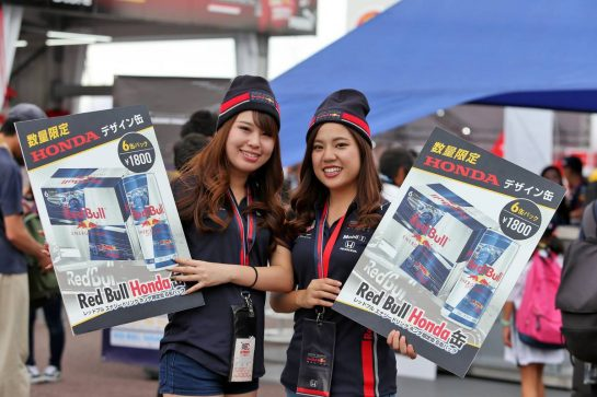 Circuit atmosphere - Red Bull vendors. 11.10.2019. Formula 1 World Championship, Rd 17, Japanese Grand Prix, Suzuka, Japan, Practice Day. - www.xpbimages.com, EMail: requests@xpbimages.com - copy of publication required for printed pictures. Every used picture is fee-liable. © Copyright: Moy / XPB Images