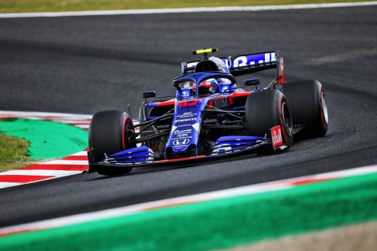 Pierre Gasly (FRA) Scuderia Toro Rosso STR14. 11.10.2019. Formula 1 World Championship, Rd 17, Japanese Grand Prix, Suzuka, Japan, Practice Day.  - www.xpbimages.com, EMail: requests@xpbimages.com - copy of publication required for printed pictures. Every used picture is fee-liable. © Copyright: Filipe / XPB Images