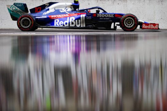 Pierre Gasly (FRA) Scuderia Toro Rosso STR14. 11.10.2019. Formula 1 World Championship, Rd 17, Japanese Grand Prix, Suzuka, Japan, Practice Day.  - www.xpbimages.com, EMail: requests@xpbimages.com - copy of publication required for printed pictures. Every used picture is fee-liable. © Copyright: Bearne / XPB Images