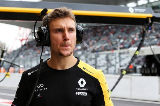 Sergey Sirotkin (RUS) Renault F1 Team Reserve Driver. 11.10.2019. Formula 1 World Championship, Rd 17, Japanese Grand Prix, Suzuka, Japan, Practice Day. - www.xpbimages.com, EMail: requests@xpbimages.com - copy of publication required for printed pictures. Every used picture is fee-liable. © Copyright: Batchelor / XPB Images