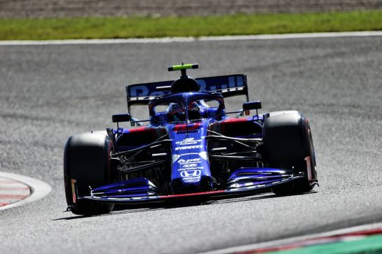 Pierre Gasly (FRA) Scuderia Toro Rosso STR14.