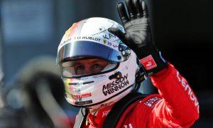 Vettel beats Leclerc as Ferrari lock-out Suzuka front row