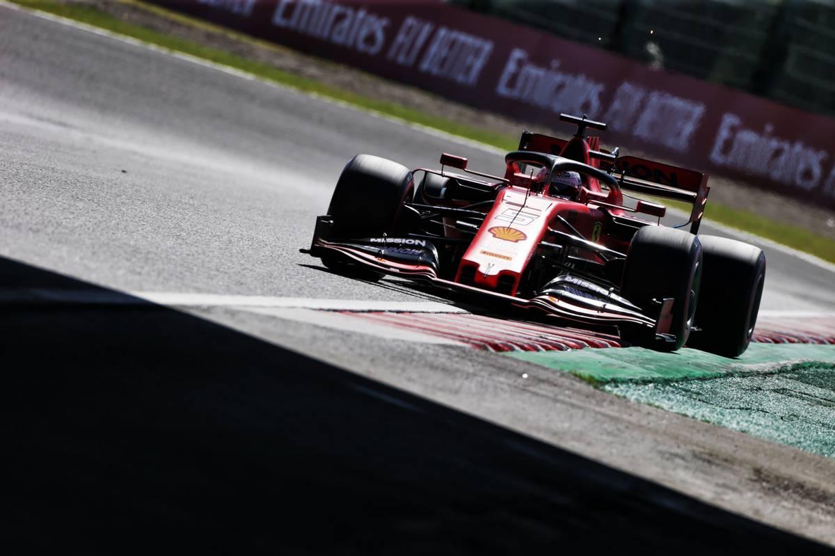 Sebastian Vettel (GER) Ferrari SF90.