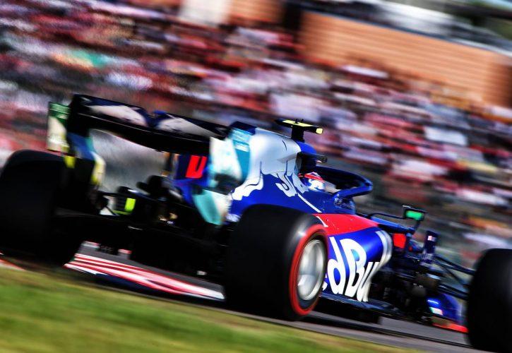 Pierre Gasly (FRA) Scuderia Toro Rosso STR14.