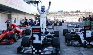 Bottas wins at Suzuka as Mercedes clinch sixth title