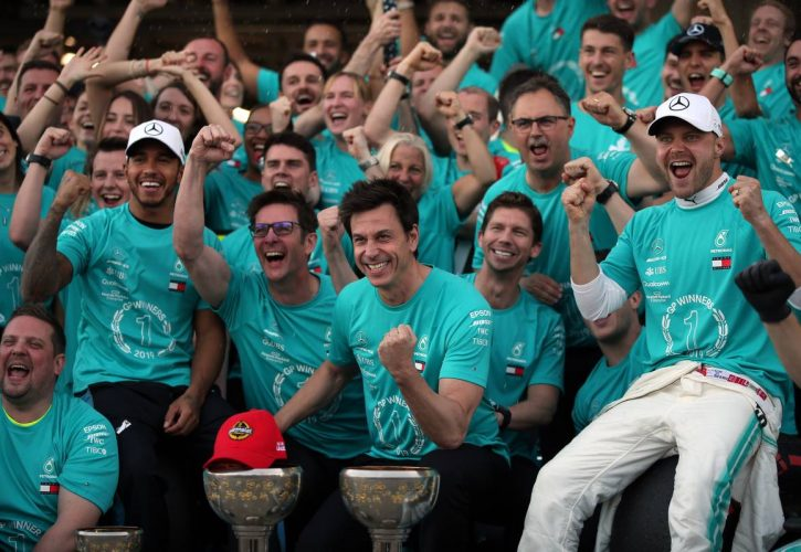 Lewis Hamilton (GBR) Mercedes AMG F1 W10