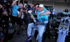 Race winner Valtteri Bottas (FIN) Mercedes AMG F1 celebrates with Toto Wolff (GER) Mercedes AMG F1