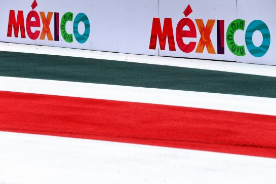 Circuit atmosphere - Mexico branding. 24.10.2019. Formula 1 World Championship, Rd 18, Mexican Grand Prix, Mexico City, Mexico, Preparation Day. - www.xpbimages.com, EMail: requests@xpbimages.com © Copyright: Moy / XPB Images