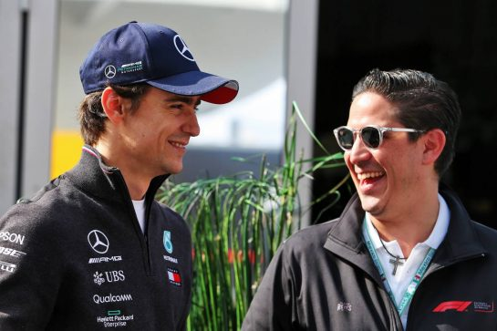 Esteban Gutierrez (MEX) Mercedes AMG F1. 24.10.2019. Formula 1 World Championship, Rd 18, Mexican Grand Prix, Mexico City, Mexico, Preparation Day. - www.xpbimages.com, EMail: requests@xpbimages.com © Copyright: Moy / XPB Images