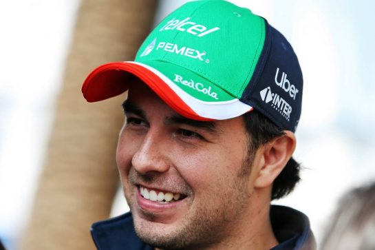 Sergio Perez (MEX) Racing Point F1 Team. 24.10.2019. Formula 1 World Championship, Rd 18, Mexican Grand Prix, Mexico City, Mexico, Preparation Day. - www.xpbimages.com, EMail: requests@xpbimages.com © Copyright: Moy / XPB Images