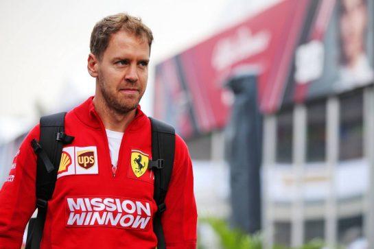 Sebastian Vettel (GER) Ferrari. 25.10.2019. Formula 1 World Championship, Rd 18, Mexican Grand Prix, Mexico City, Mexico, Practice Day. - www.xpbimages.com, EMail: requests@xpbimages.com © Copyright: Batchelor / XPB Images
