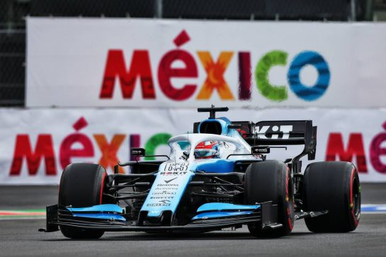 George Russell (GBR) Williams Racing FW42. 25.10.2019. Formula 1 World Championship, Rd 18, Mexican Grand Prix, Mexico City, Mexico, Practice Day. - www.xpbimages.com, EMail: requests@xpbimages.com © Copyright: Moy / XPB Images