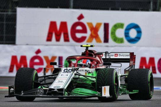 Antonio Giovinazzi (ITA) Alfa Romeo Racing C38. 25.10.2019. Formula 1 World Championship, Rd 18, Mexican Grand Prix, Mexico City, Mexico, Practice Day. - www.xpbimages.com, EMail: requests@xpbimages.com © Copyright: Moy / XPB Images