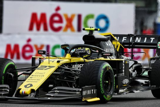 Nico Hulkenberg (GER) Renault F1 Team RS19. 25.10.2019. Formula 1 World Championship, Rd 18, Mexican Grand Prix, Mexico City, Mexico, Practice Day. - www.xpbimages.com, EMail: requests@xpbimages.com © Copyright: Moy / XPB Images