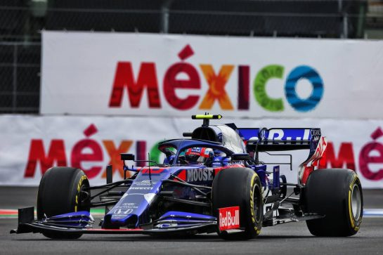 Pierre Gasly (FRA) Scuderia Toro Rosso STR14. 25.10.2019. Formula 1 World Championship, Rd 18, Mexican Grand Prix, Mexico City, Mexico, Practice Day. - www.xpbimages.com, EMail: requests@xpbimages.com © Copyright: Moy / XPB Images