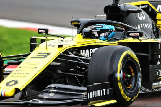 Daniel Ricciardo (AUS) Renault F1 Team RS19. 25.10.2019. Formula 1 World Championship, Rd 18, Mexican Grand Prix, Mexico City, Mexico, Practice Day.  - www.xpbimages.com, EMail: requests@xpbimages.com © Copyright: Bearne / XPB Images
