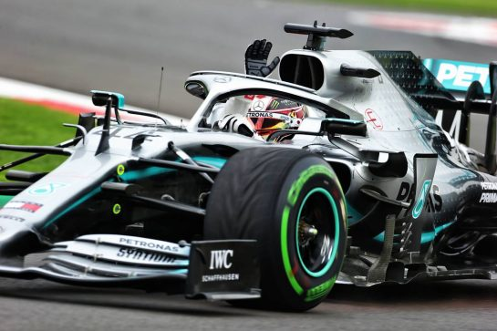 Lewis Hamilton (GBR) Mercedes AMG F1 W10. 25.10.2019. Formula 1 World Championship, Rd 18, Mexican Grand Prix, Mexico City, Mexico, Practice Day.  - www.xpbimages.com, EMail: requests@xpbimages.com © Copyright: Bearne / XPB Images