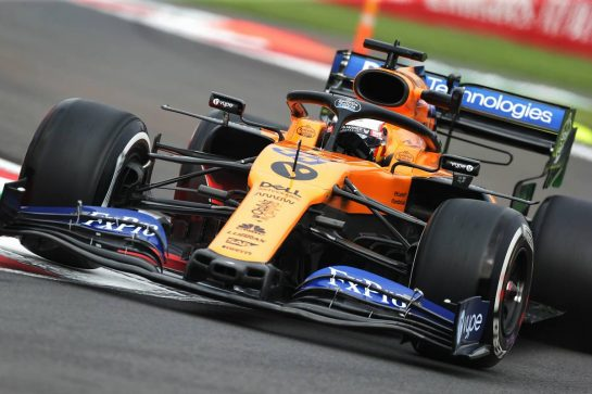 Carlos Sainz Jr (ESP) McLaren MCL34. 25.10.2019. Formula 1 World Championship, Rd 18, Mexican Grand Prix, Mexico City, Mexico, Practice Day.  - www.xpbimages.com, EMail: requests@xpbimages.com © Copyright: Bearne / XPB Images