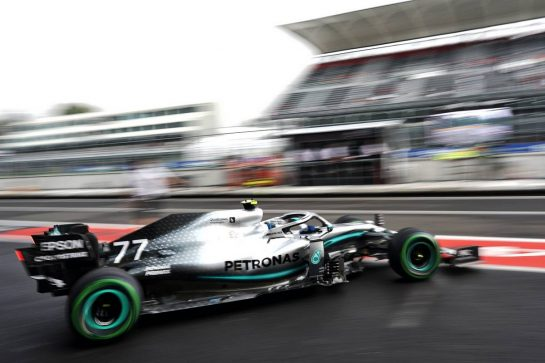 Valtteri Bottas (FIN) Mercedes AMG F1 W10. 25.10.2019. Formula 1 World Championship, Rd 18, Mexican Grand Prix, Mexico City, Mexico, Practice Day.  - www.xpbimages.com, EMail: requests@xpbimages.com © Copyright: Dungan / XPB Images
