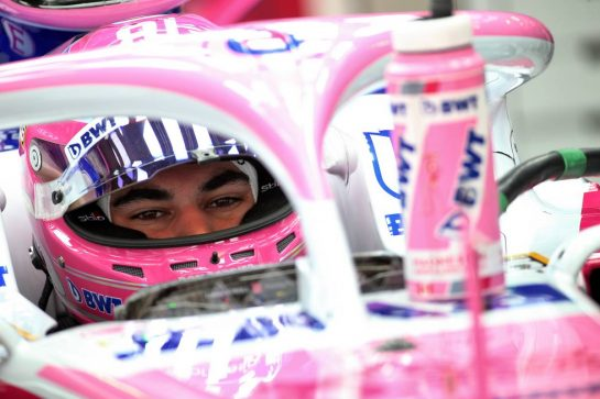 Lance Stroll (CDN) Racing Point F1 Team RP19. 25.10.2019. Formula 1 World Championship, Rd 18, Mexican Grand Prix, Mexico City, Mexico, Practice Day. - www.xpbimages.com, EMail: requests@xpbimages.com © Copyright: Batchelor / XPB Images