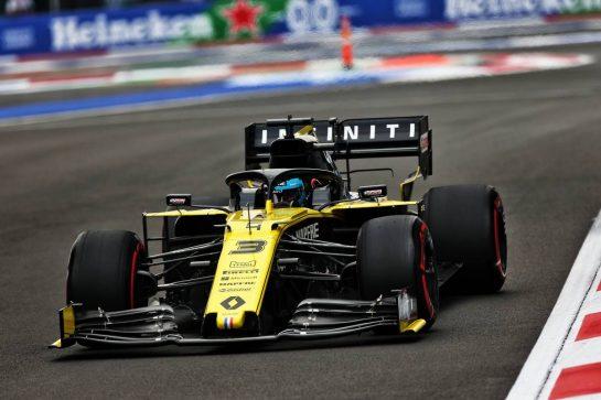 Daniel Ricciardo (AUS) Renault F1 Team RS19. 25.10.2019. Formula 1 World Championship, Rd 18, Mexican Grand Prix, Mexico City, Mexico, Practice Day. - www.xpbimages.com, EMail: requests@xpbimages.com © Copyright: Moy / XPB Images