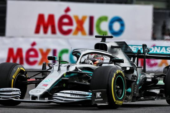 Lewis Hamilton (GBR) Mercedes AMG F1 W10. 25.10.2019. Formula 1 World Championship, Rd 18, Mexican Grand Prix, Mexico City, Mexico, Practice Day. - www.xpbimages.com, EMail: requests@xpbimages.com © Copyright: Moy / XPB Images