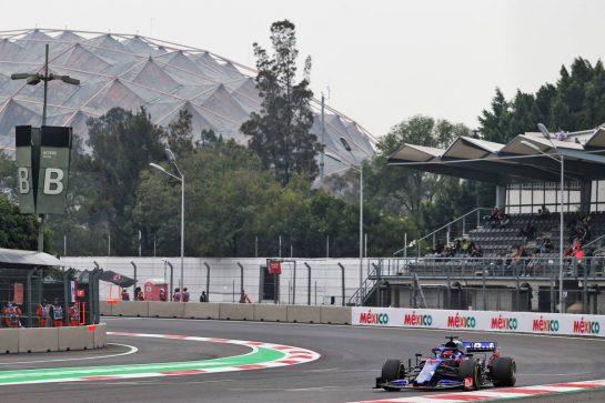 Daniil Kvyat (RUS) Scuderia Toro Rosso STR14. 25.10.2019. Formula 1 World Championship, Rd 18, Mexican Grand Prix, Mexico City, Mexico, Practice Day. - www.xpbimages.com, EMail: requests@xpbimages.com © Copyright: Moy / XPB Images