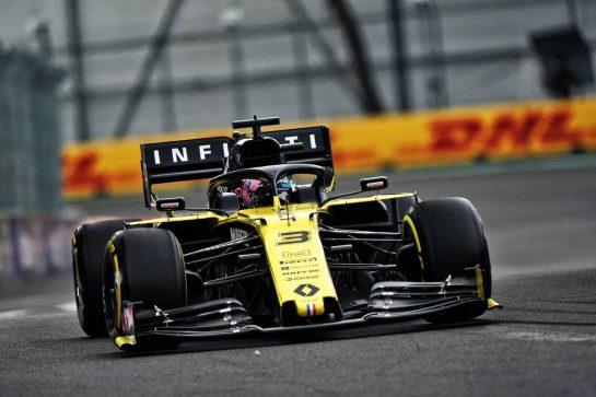 Daniel Ricciardo (AUS) Renault F1 Team RS19.                                25.10.2019. Formula 1 World Championship, Rd 18, Mexican Grand Prix, Mexico City, Mexico, Practice Day.  - www.xpbimages.com, EMail: requests@xpbimages.com © Copyright: Dungan / XPB Images