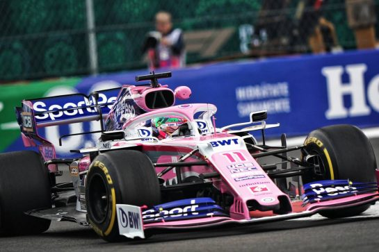 Sergio Perez (MEX) Racing Point F1 Team RP19.                                25.10.2019. Formula 1 World Championship, Rd 18, Mexican Grand Prix, Mexico City, Mexico, Practice Day.  - www.xpbimages.com, EMail: requests@xpbimages.com © Copyright: Dungan / XPB Images