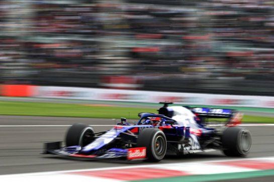 Daniil Kvyat (RUS) Scuderia Toro Rosso STR14. 25.10.2019. Formula 1 World Championship, Rd 18, Mexican Grand Prix, Mexico City, Mexico, Practice Day.  - www.xpbimages.com, EMail: requests@xpbimages.com © Copyright: Bearne / XPB Images